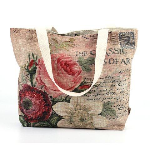 Women Printed Vintage Casual  Shoulder Bags