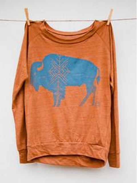 Crew Neck Printed Casual Shirts & Tops