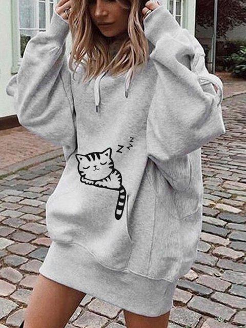 Basic Paneled Hoodie Cotton Outerwear