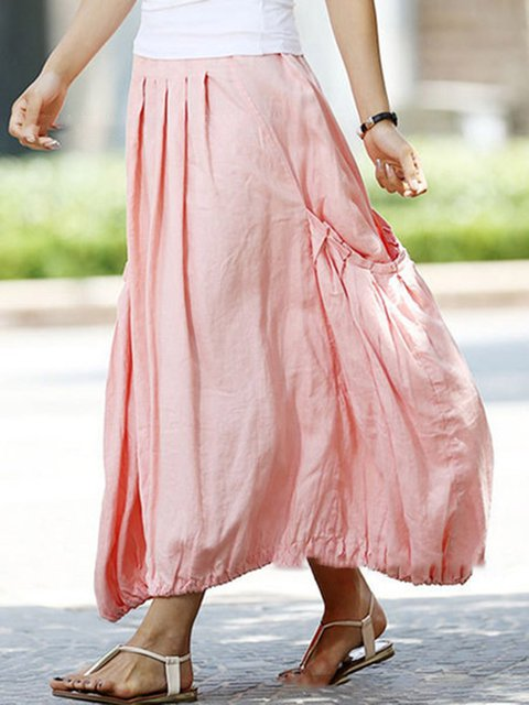 Pink Outdoor Paneled Skirts