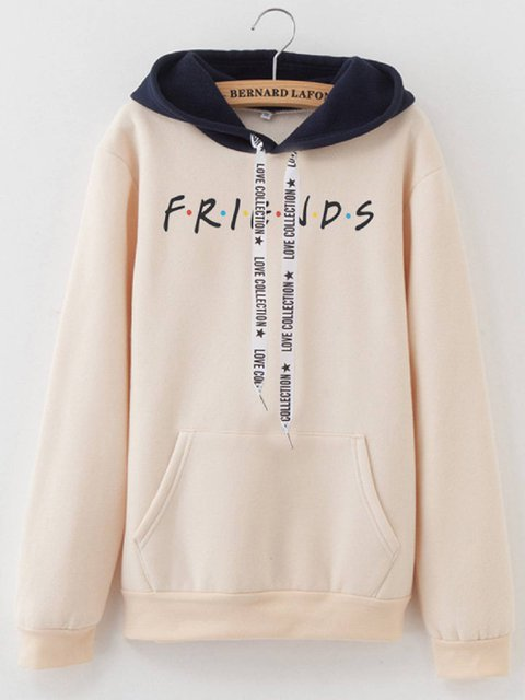 Casual Cotton-Blend Hoodies