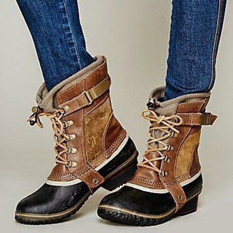 Low Heel Spring/fall Casual Boots
