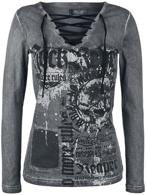 Deep Grey Cotton Casual Shirts & Tops
