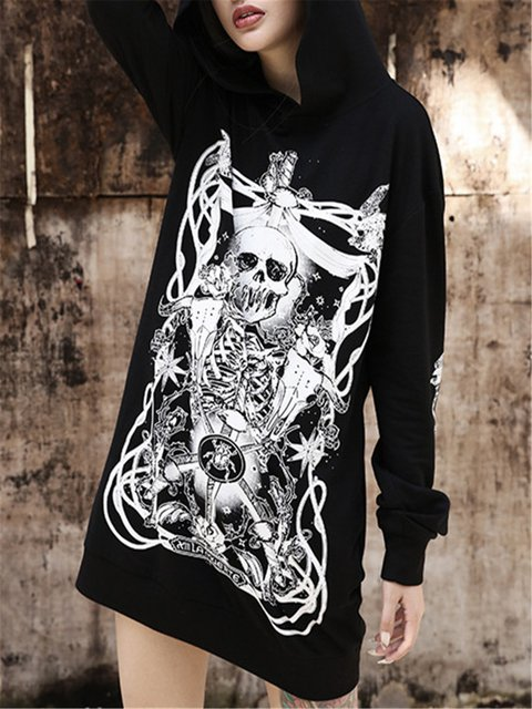 Casual  Floral-Print Long Sleeve Shirts & Tops