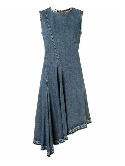 Formal Dresses Summer Dresses Date Vintage Washed Sleeveless Dresses