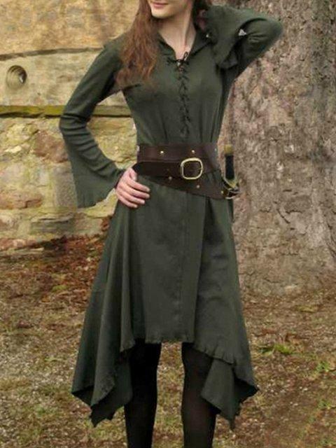 medieval Cotton Vintage Dresses