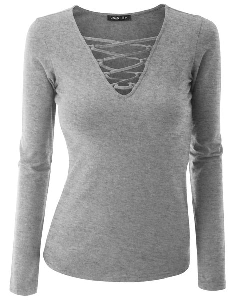 Simple Cotton Long Sleeve T-Shirts