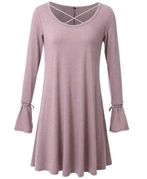 Women Casual Dresses Daily Simple Cotton Dresses