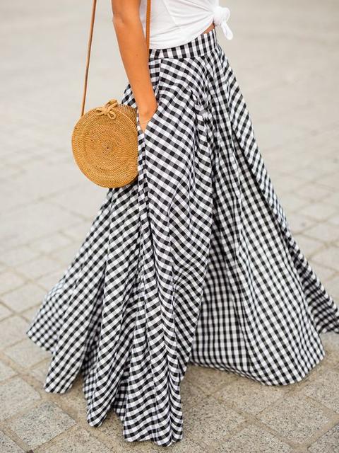 Checkered/plaid Vintage Skirts