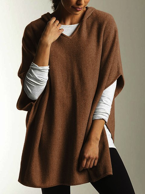 Casual Shift Half Sleeve Sweaters