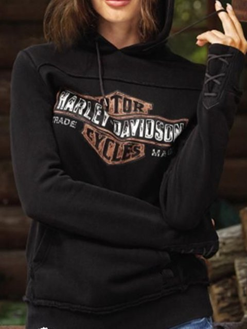 Black Casual Long Sleeve Shirts & Tops
