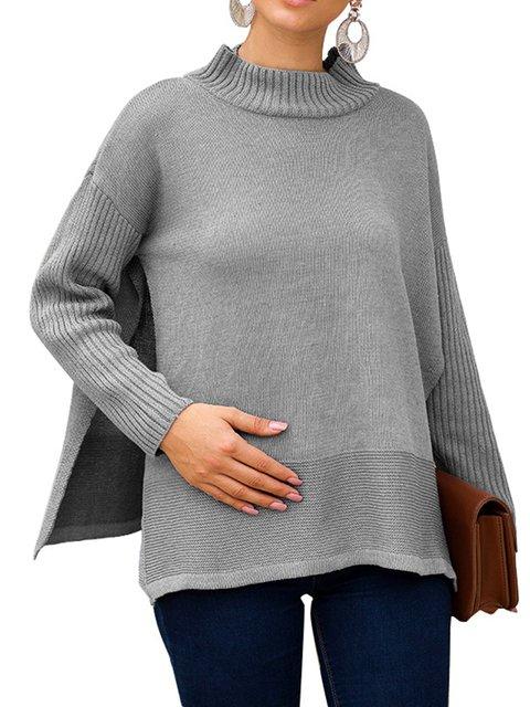 Plain Simple & Basic Long Sleeve Sweaters