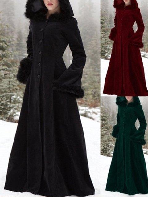Medieval costume plus size Hoodie Vintage Outerwear
