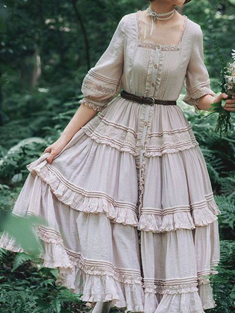 Long Sleeve Casual Dresses