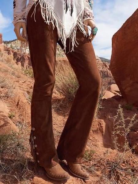 Khaki Corduroy Vintage Pants