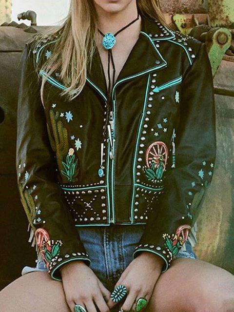 Cowboy Boho Leather Jacket