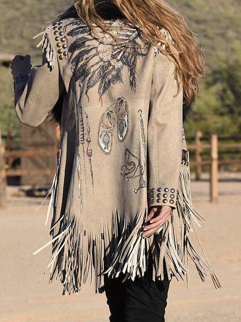 Boho Tassel Coat