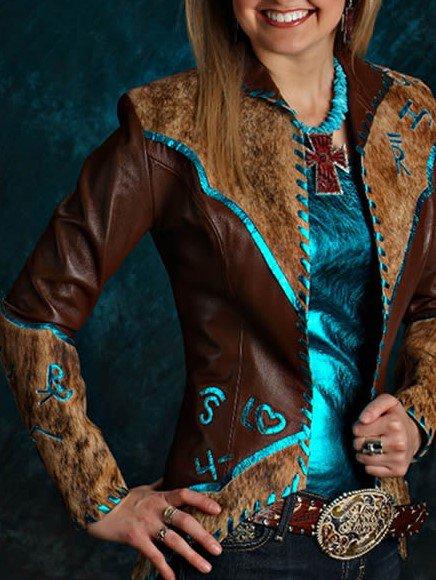 Boho Faux Leather Jacket