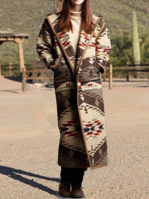 Khaki Paneled Long Sleeve Outerwear