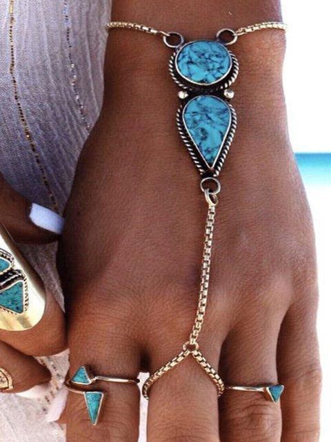Silver Vintage Alloy Bracelets