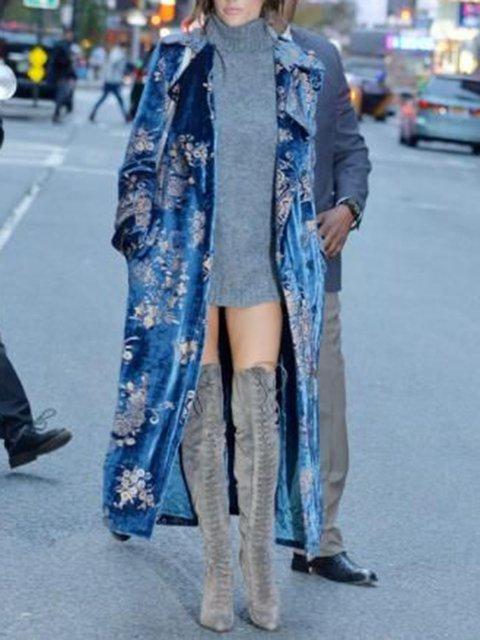 Vintage Velvet Outerwear