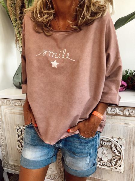 Vintage Long Sleeve Cotton-Blend Shirts & Tops