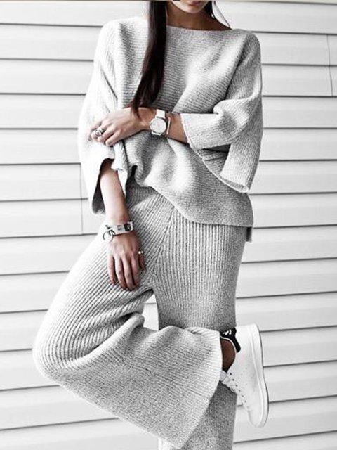 Plus size Cotton Casual Suits