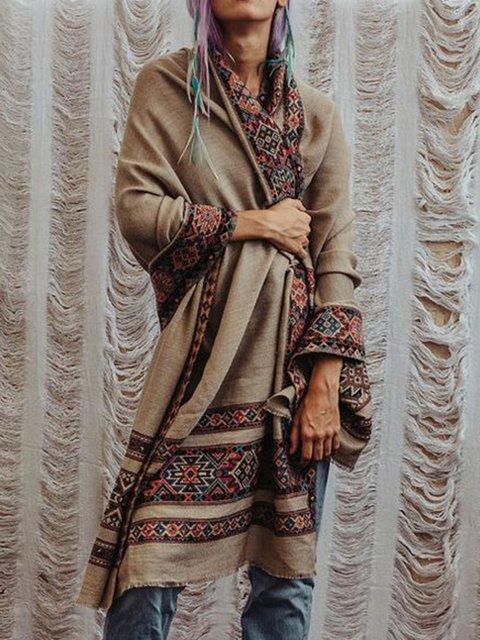 Boho Geometric Cotton Scarves & Shawls