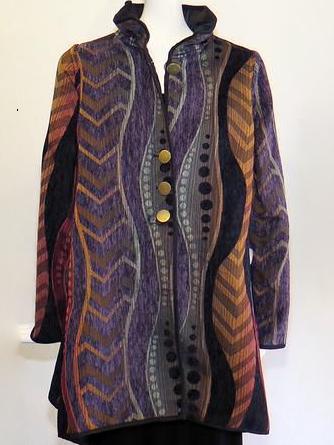Plus size Long Sleeve Cotton Outerwear