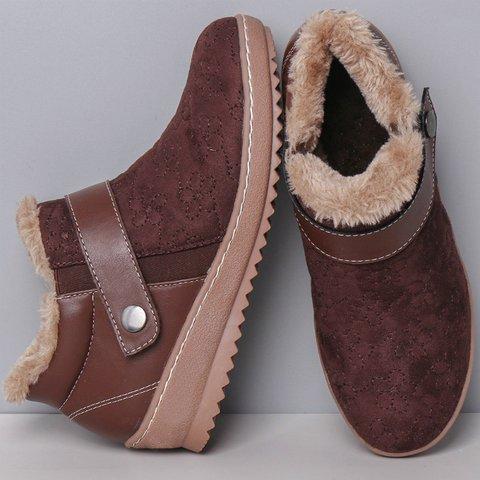 Low Heel Winter Daily Women's Shoes