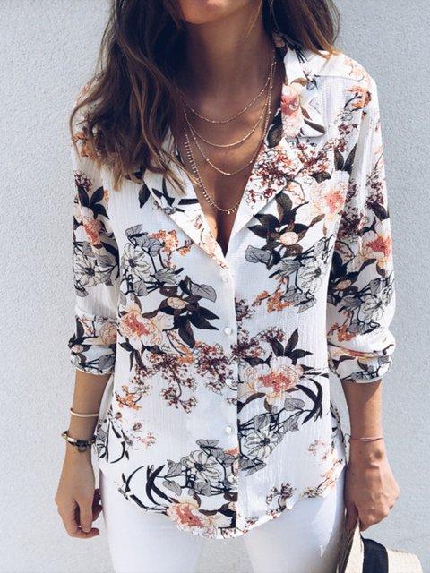 Color long sleeve shirt