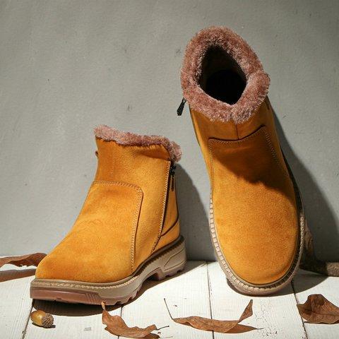Casual Winter Flat Heel Women's Shoes