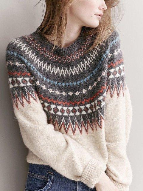 Casual Bohemian Sweater