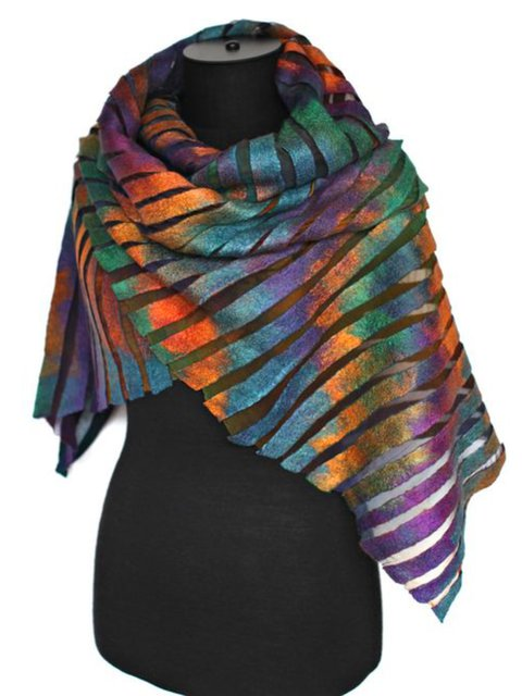 Polyester Winter Holiday Scarves