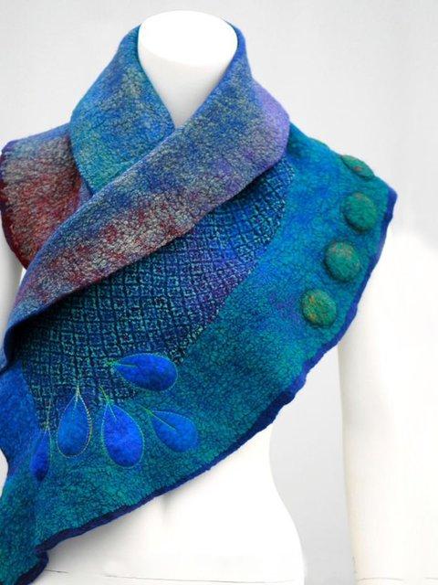 Women Winter Polyester Scarves
