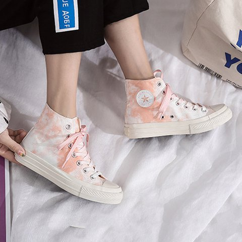 All Season Canvas Color Block Sneakers