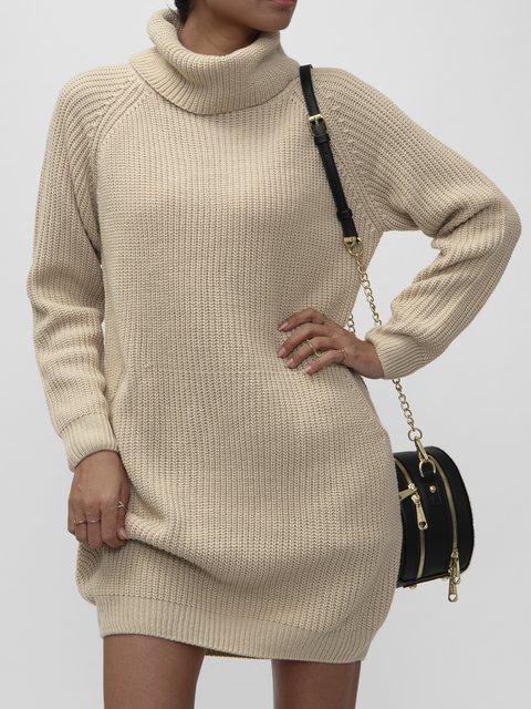 Turtleneck Casual Sweater
