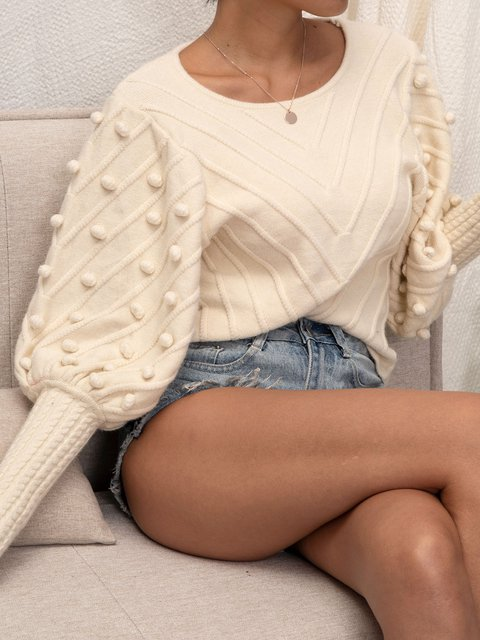 Apricot Knitted Shirts & Tops