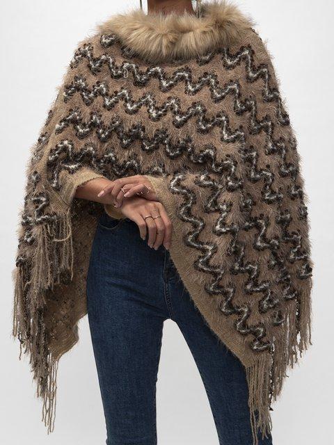 Khaki Cotton Sweater