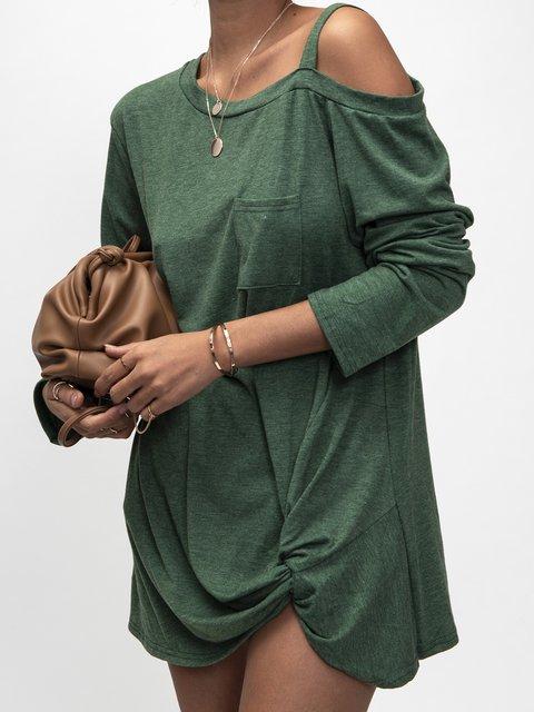 Green Cotton Shirts & Tops