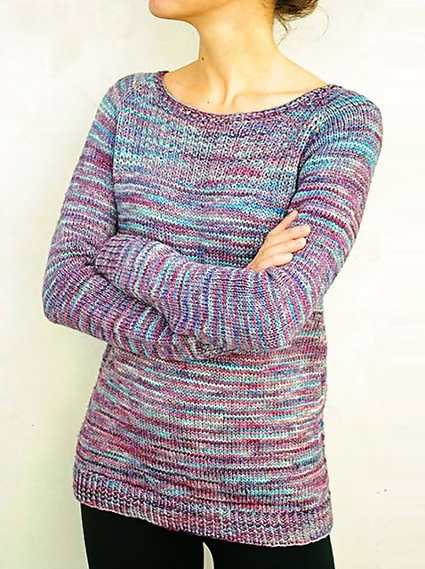 Solid Long Sleeve Knitted Shirts & Tops