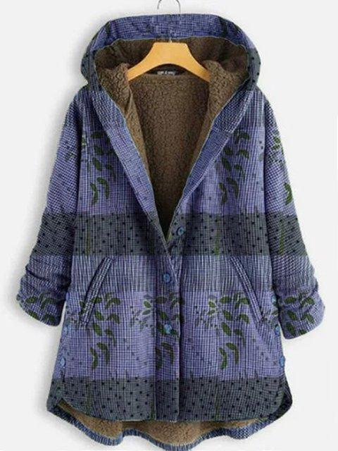 Long Sleeve Cotton-Blend Outerwear
