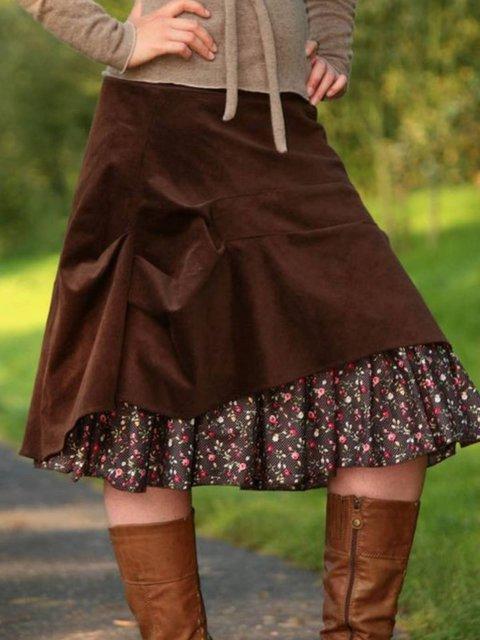Plain Skirts