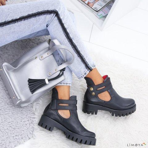 Buckle Casual All Season Low Heel Boots