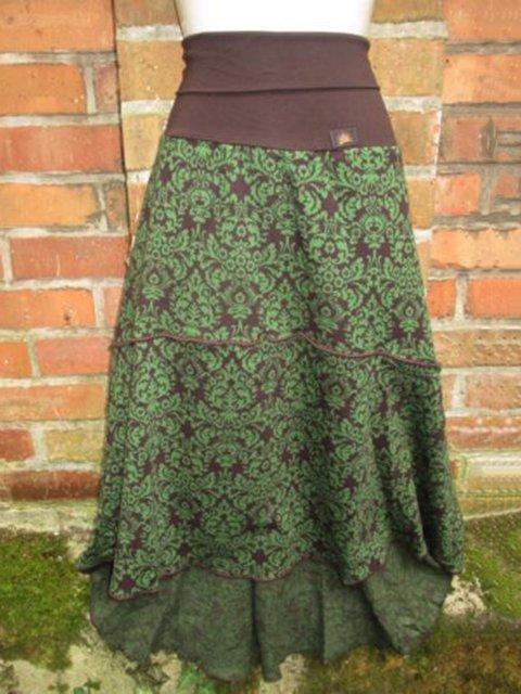 Vintage Cotton-Blend Skirts
