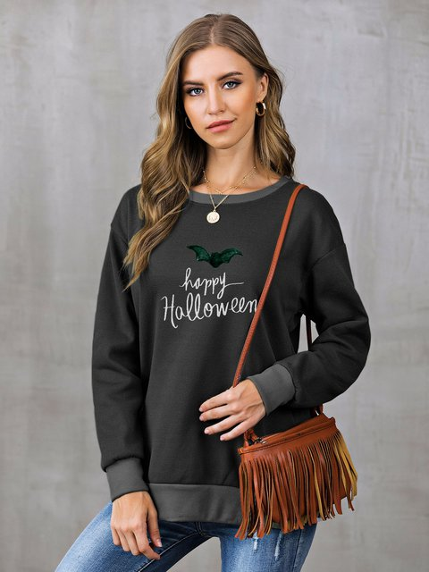 Long Sleeve Shift Sweatshirt