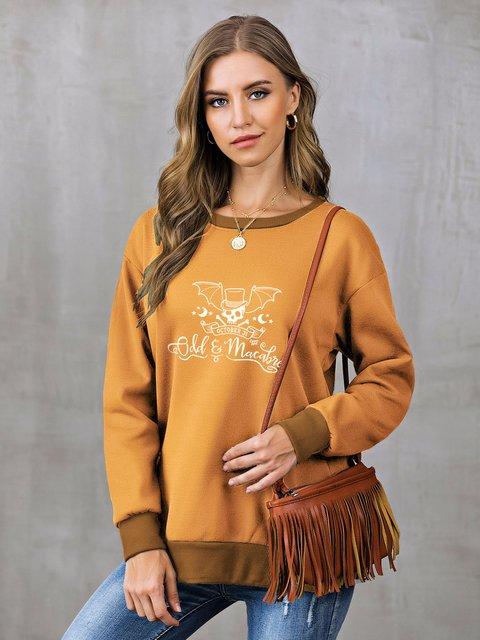 Shift Long Sleeve Casual Sweatshirt