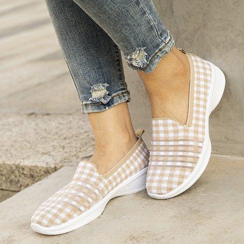 Elastic Cloth Sneakers