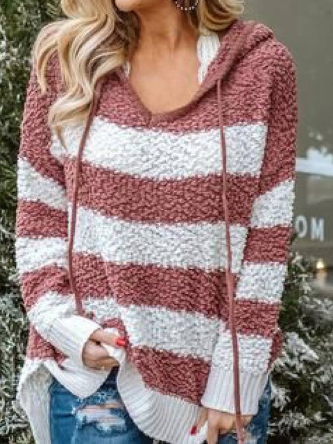 Long Sleeve Casual Hoodie Shirts & Tops