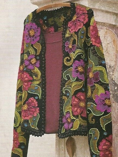 Printed Vintage Outerwear